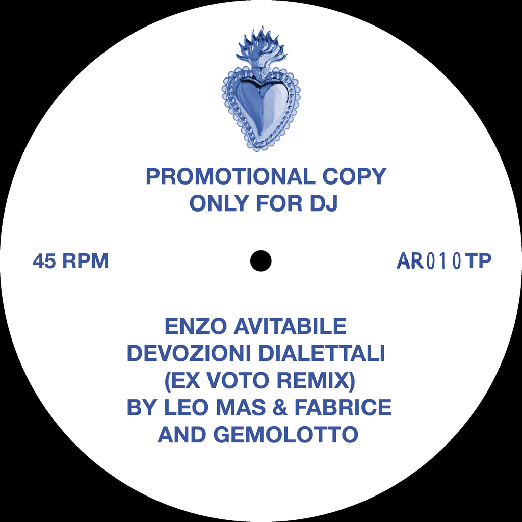 Devozioni dialettali (Ex voto Remix by Leo Mas & Fabrice and Gemolotto) single-sided 12